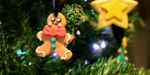 How to make a Gingerbread person decoration