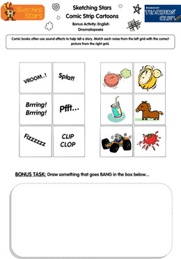KS1 English: Identifying Onomatopoeia