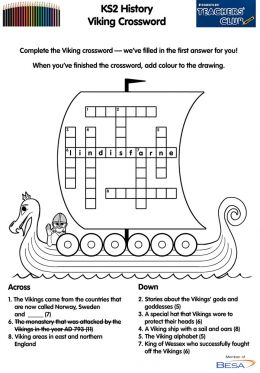 KS2 History: Viking Crossword